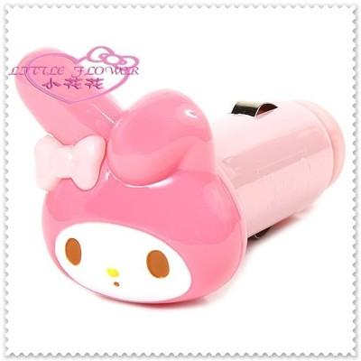 小花花日本精品♥Hello Kitty 美樂蒂 車充/ 車用USB轉接充電器 00407106 (7.9折)