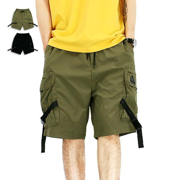 短褲-織帶口袋工裝短褲-經典工裝款99914200共2色rfd
