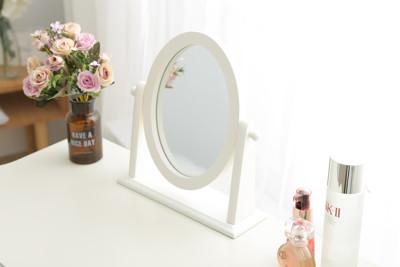 英式 海倫Helen木製桌上鏡 立鏡 鏡子 美容鏡 (3.6折)
