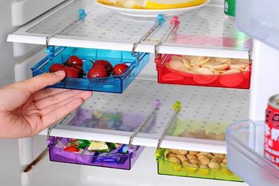 冰箱隔板層多用收納盒 (2.2折)