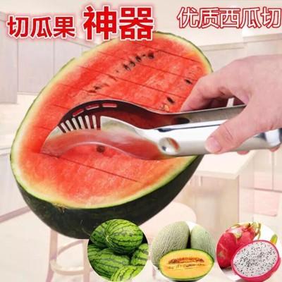 亞馬遜熱銷-不鏽鋼水果西瓜分切刀器 (2.2折)