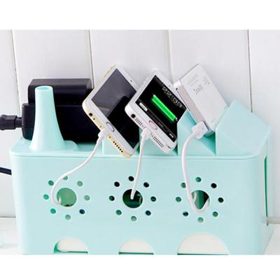 << igoole >> 創意電源線塑膠收納盒插座插排理線盒 #1391 (5.8折)