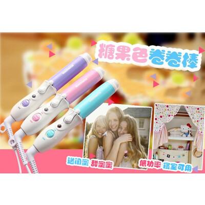 << igoole >> 迷你捲髮棒空氣瀏海神器陶瓷小電捲棒1398 (7.6折)