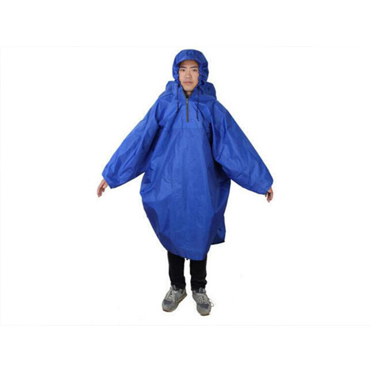 << igoole >> 男女成人戶外旅行可擕式背包連體雨衣1443