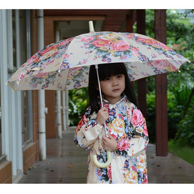 << igoole >> 兒童雨衣寶寶雨衣韓版大花朵雨衣-s,m,l #1327
