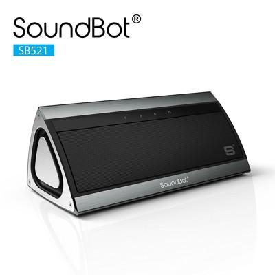 美國聲霸SoundBot SB521 觸控式3D立體環繞重低音藍牙喇叭 + 高質感金屬外觀 (10折)