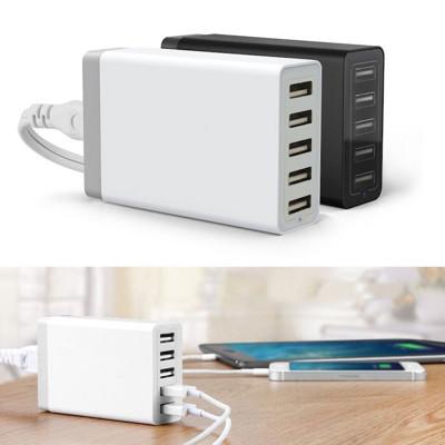 美國PowerBot PB5000 5port USB智慧型快速充電器 (6.4折)