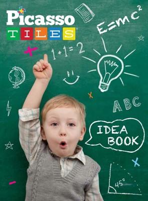 美國畢卡索Picasso Tiles PT-Idea book 創意構想書 -超過90種積木創意組合 (5折)