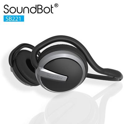 美國Soundbot SB221 4.0無線藍牙耳機 運動防水防汗耳機 後掛藍芽耳機 (6.5折)