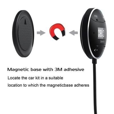 丹麥Geartist 汽車FM藍牙音樂接收器 廣播發射器 藍芽分享器 (7.3折)