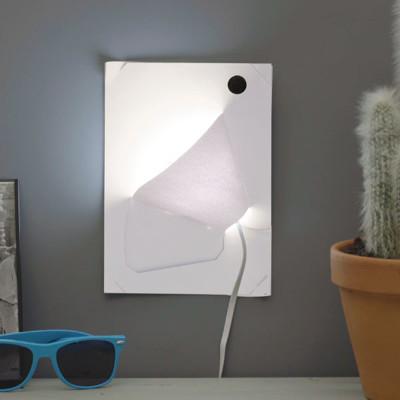 DIY 壁燈 ~ 英國 Bare Conductive DIY 導電漆模組
