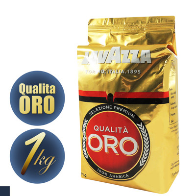 LAVAZZA QUALITA ORO 咖啡豆 1kg 義大利原裝進口 (7.1折)