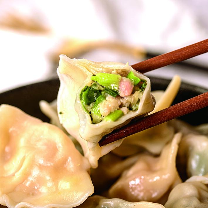 [馬二姐眷村食堂]手工水餃-韭菜鮮肉