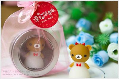 拉拉熊(USB 8G)-女版 (附鐵盒及紗袋包裝).(快娶)婚禮小物 生日情人節禮物 幸福朵朵 (7.1折)