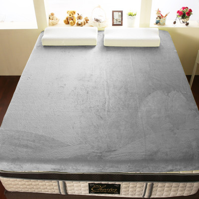 【契斯特】12公分柔暖法蘭絨記憶床墊-特大7尺-6色 (5.7折)