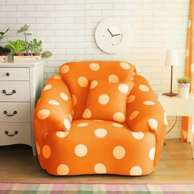 【Homebeauty】超涼感冰晶絲印花彈性沙發罩-1人座-四色可選 (5.3折)
