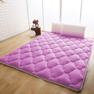 【契斯特】八公分超厚實素色京都日式床墊-雙人5尺-八色可選 (6.1折)