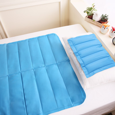 【CoolCold】專利認證-急冷激涼冷凝墊組-枕墊*1+床墊*1 (6.4折)