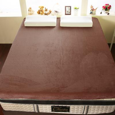 【契斯特】12公分柔暖法蘭絨記憶床墊-單人3尺-6色 (4.3折)