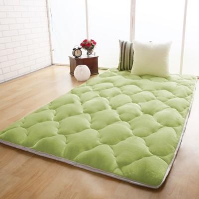【契斯特】八公分超厚實素色京都日式床墊-單人加大3.5尺-八色可選 (6.1折)