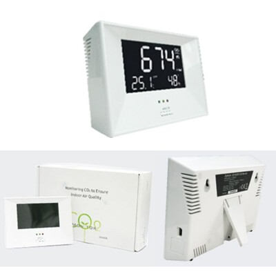 【CO2偵測器】ZG-1683R CO2偵測器/二氧化碳及溫度/濕度監測儀 (8.6折)