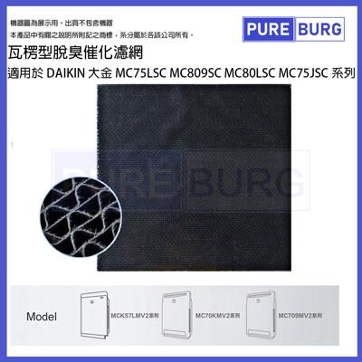 除臭催化濾網適用DAIKIN 大金MC75LSC MC809SC MC80LSC MC75JSC系列 (6.5折)