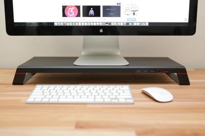 MONITORMATE miniS 多功能螢幕架 USB 3.0+充電底座 (6.7折)
