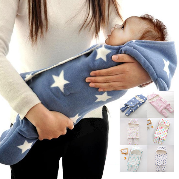 保暖雙層羊羔絨嬰兒分腿式睡袋-tl5035