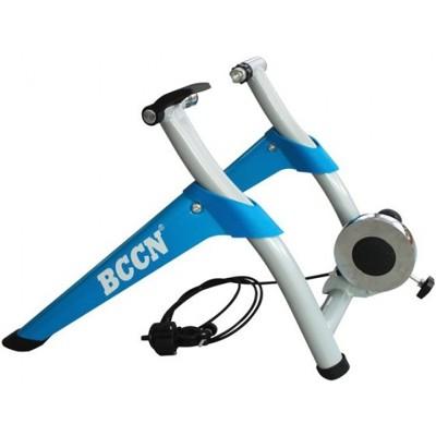 小謙單車全新bccn八段式線控訓練台 / 單車練習台-適用26-28吋用(藍色) (8折)