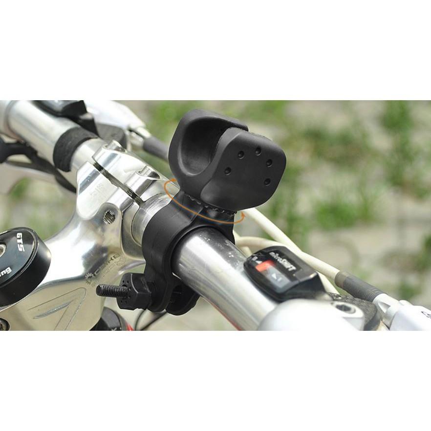 小謙單車大號加大版360旋轉手電筒架/前燈架/電燈支架