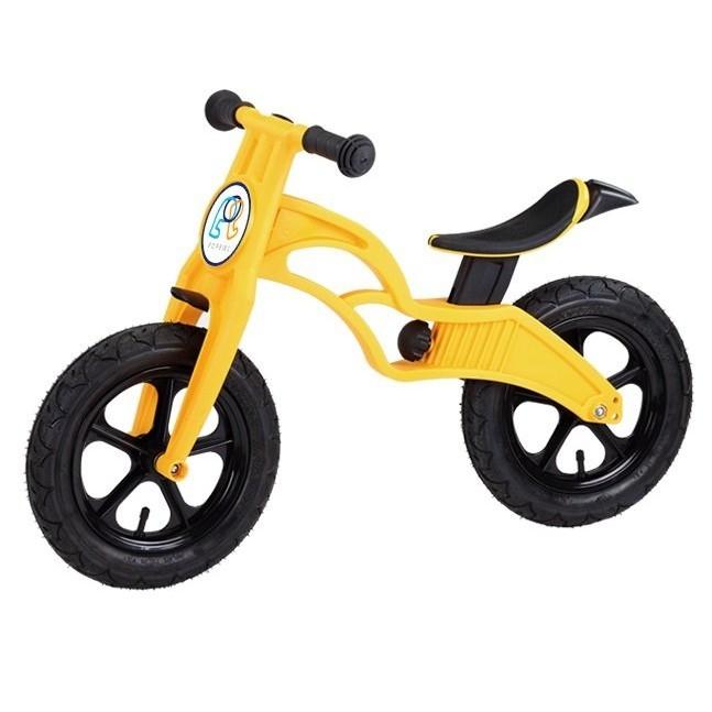 小謙單車全新pop bike 普派 滑步車 eva胎/氣胎平衡車 學步車 (黃色)