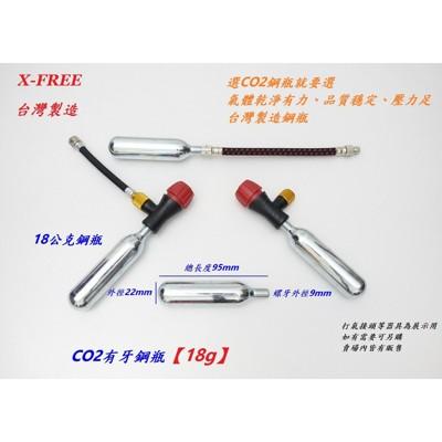 小謙單車全新co2有牙鋼瓶18g (6.7折)