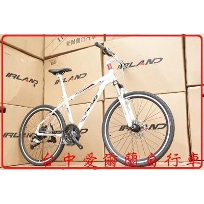 小謙單車愛爾蘭自行車 原廠直營 日本shimano alivio 27速 鋁合金 碟剎 避震 登山車 (8.3折)
