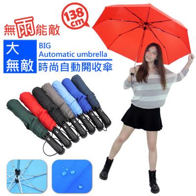 超大無敵時尚自動開收傘 (3.4折)