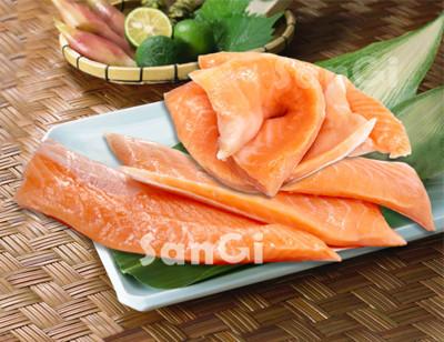 頂級智利鮭魚肚條 (5折)