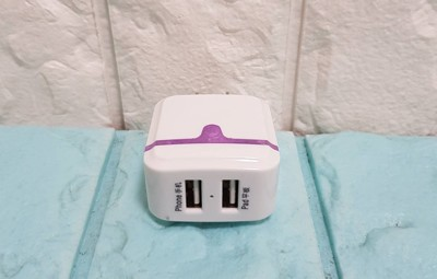 足2A快充頭 大電流2000mA 充電快速 雙USB 可一次充2支手機 (2.3折)