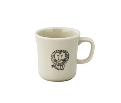 日本進口Lisa Larson聯名陶瓷馬克杯(含木盒)-獅子 (5.5折)