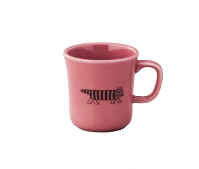 日本進口Lisa Larson聯名陶瓷馬克杯(含木盒)-麥基 (5.5折)