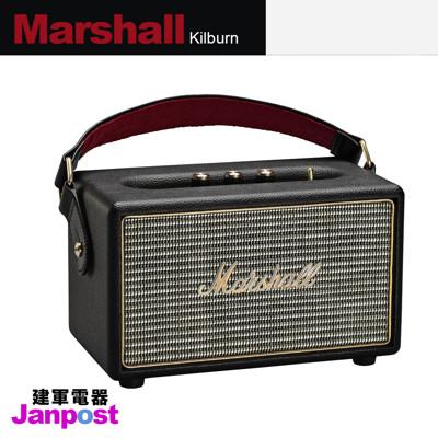 Marshall Kilburn 一代 復刻經典 無線藍芽 攜帶式喇叭 音響 全新 正品/建軍電器 (6.2折)