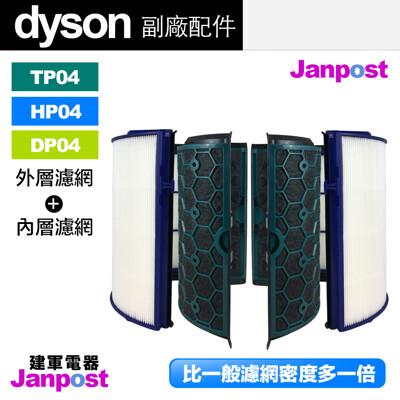 Dyson 戴森 超高密度 副廠濾網 TP04 HP04 DP04 空氣清淨機 內層+外層 濾網 (5.6折)