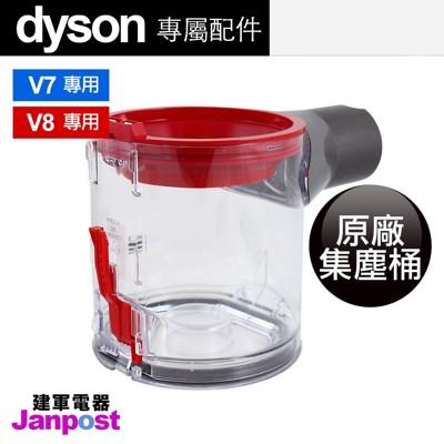 【建軍電器】全新100% Dyson 原廠集塵桶  V7 V8 (4.6折)