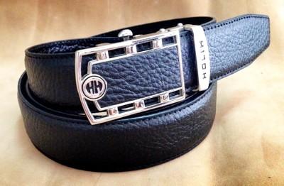 HH牛皮自動皮帶 造型鏤空皮帶頭 (5.2折)