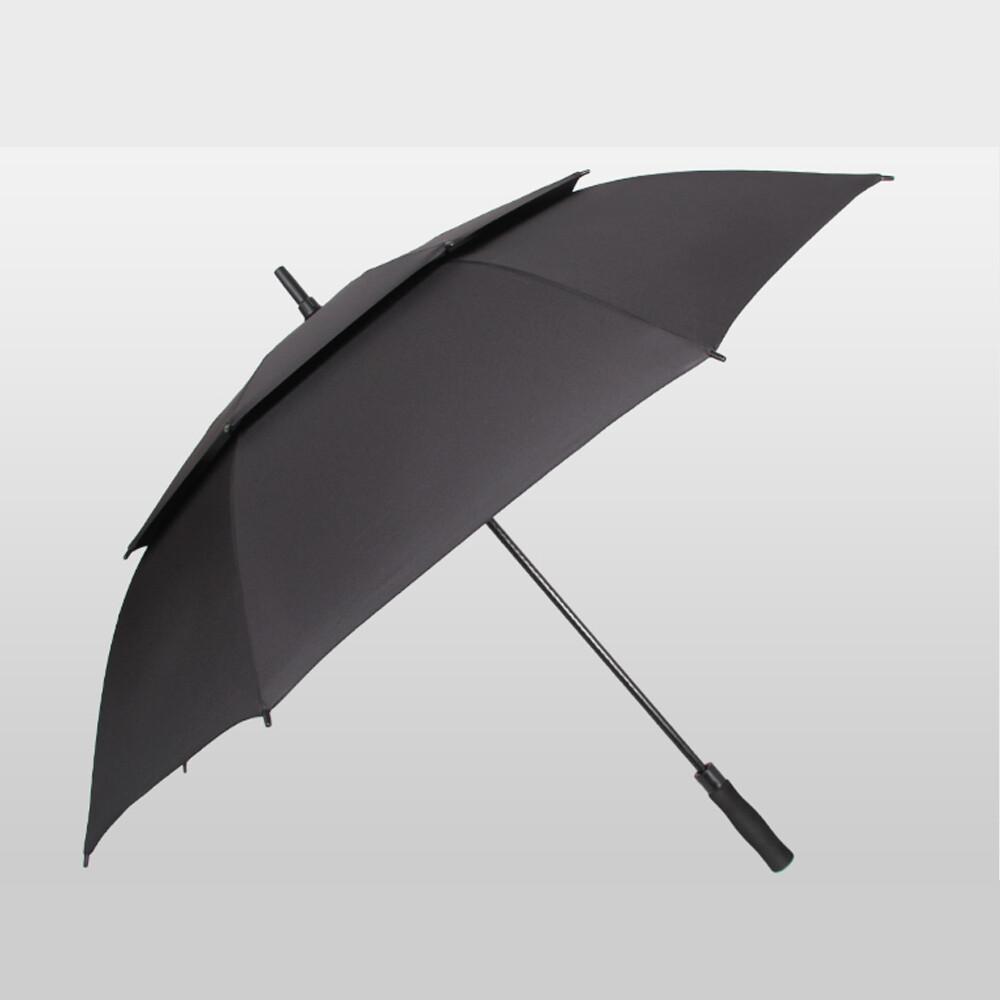 push! 好聚好傘專利抗風降壓雙層自動傘雨傘遮陽傘戶外防雷傘(110cm) i64