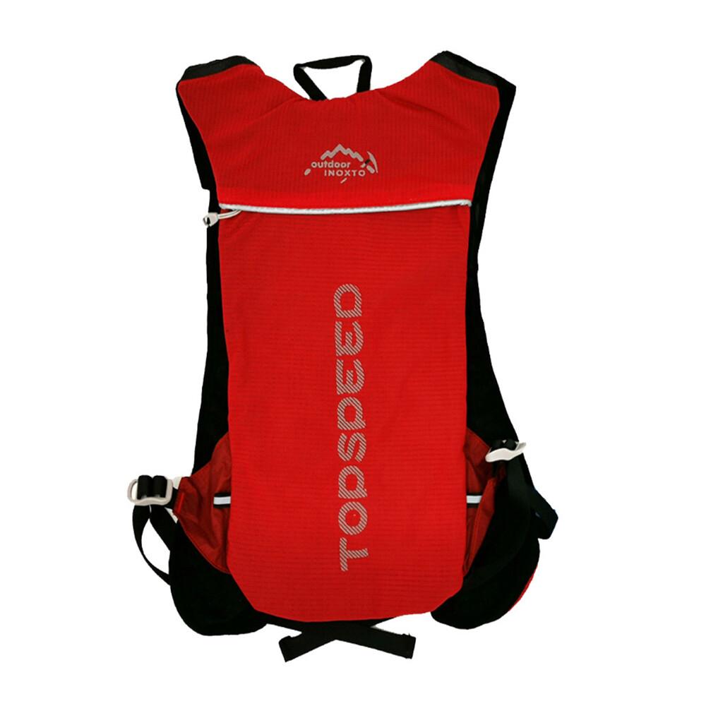push!戶外休閒用品騎行包戶外運動包騎行背包水袋包跑步5l背包u61