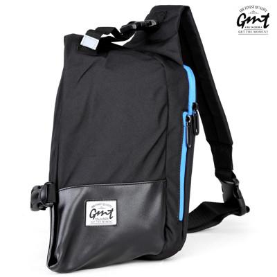 GMT 挪威潮流品牌 單車休閒側背包-黑色 (2.7折)