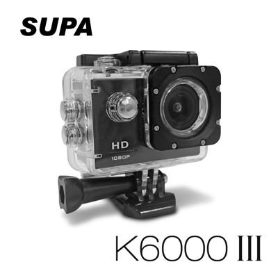 【凱騰】速霸 K6000 III 三代 Full HD 1080P 防水 行車記錄器 送16GTF卡 (3.4折)