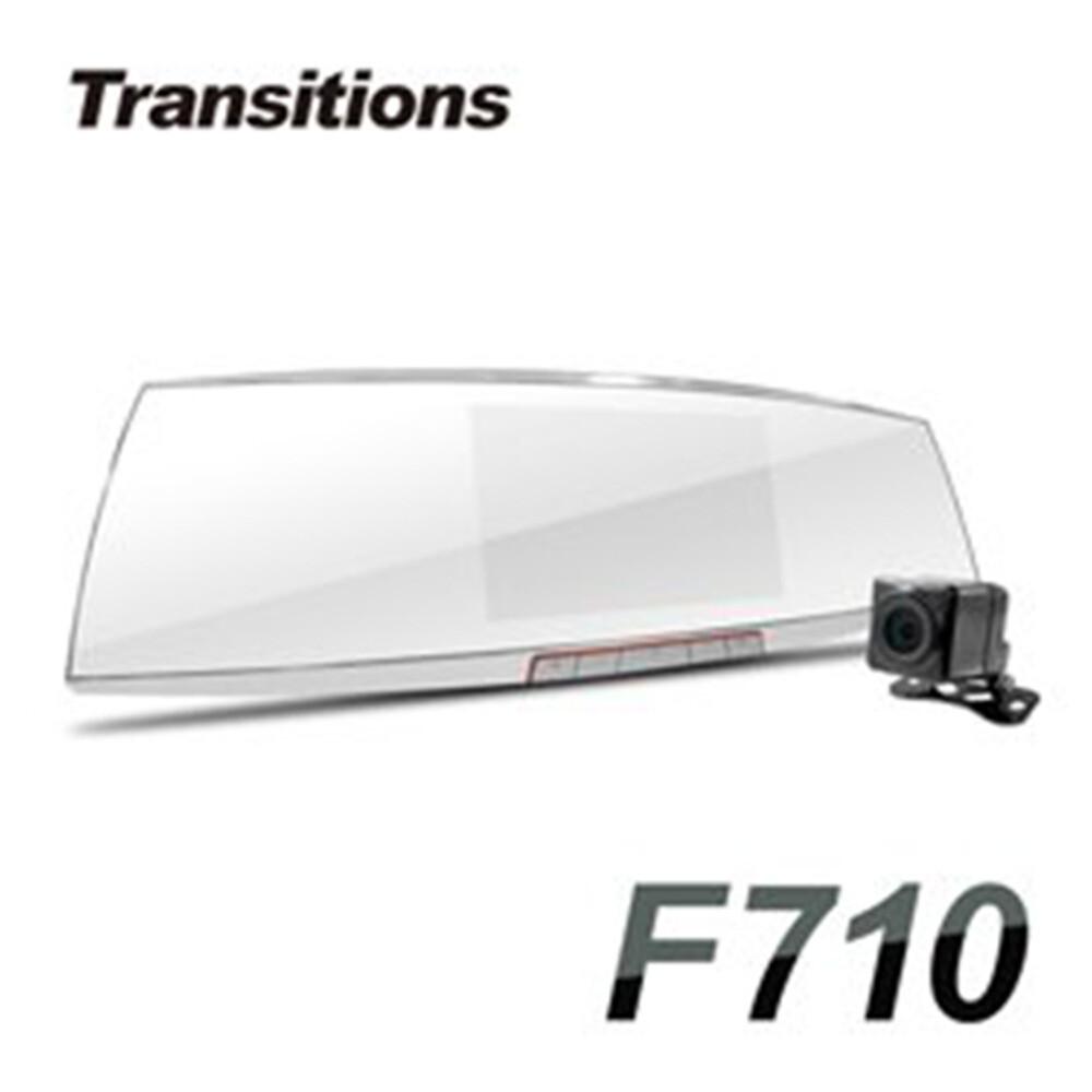 凱騰全視線 f710 聯詠96663 sony感光元件 雙鏡頭後視鏡型行車記錄器 (送1
