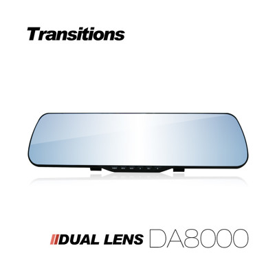 【凱騰】全視線 DA8000 1080P 雙鏡頭後視鏡行車記錄器 星光版(送16G TF卡) (4.1折)
