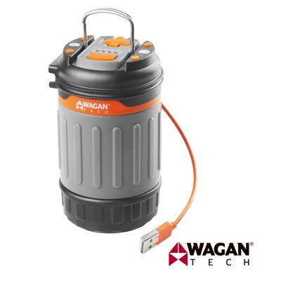 【凱騰】美國 WAGAN 多功能 磁吸式 LED 手電筒 工作燈 露營燈 (4304) (3.7折)