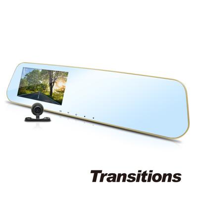 全視線 DV7350 前後雙鏡頭 Full HD 1080P 後視鏡型行車記錄器(送16G TF卡) (4.2折)